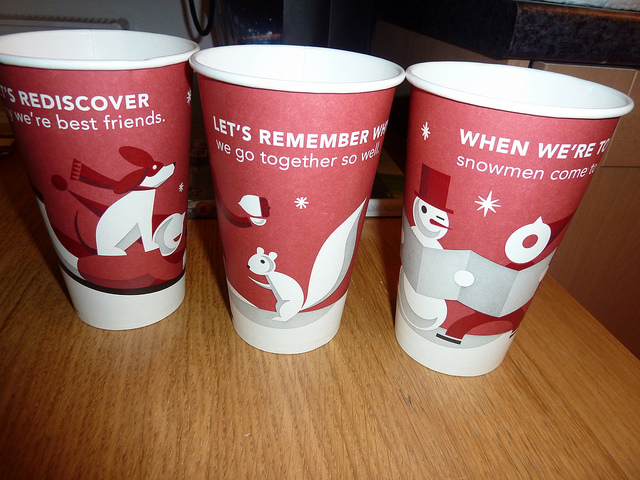 Starbucks Christmas Cups.War On Starbucks Religious Right Miffed About Coffee