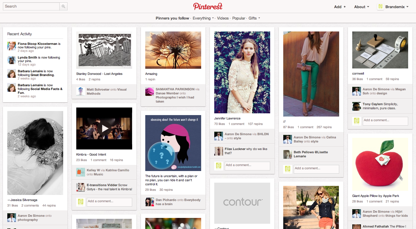 Http Brandeblog Wordpress Com 2012 04 30 Why Your Brand Should Be On Pinterest And Why It Shouldnt