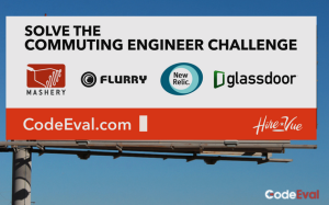 CodeEval billboard