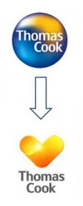 Thomas Cook logo change